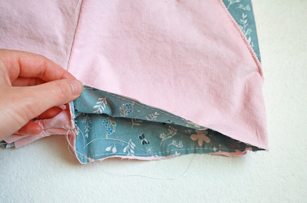 How to make Reversible Pixie Shorts by Twig + Tale 2