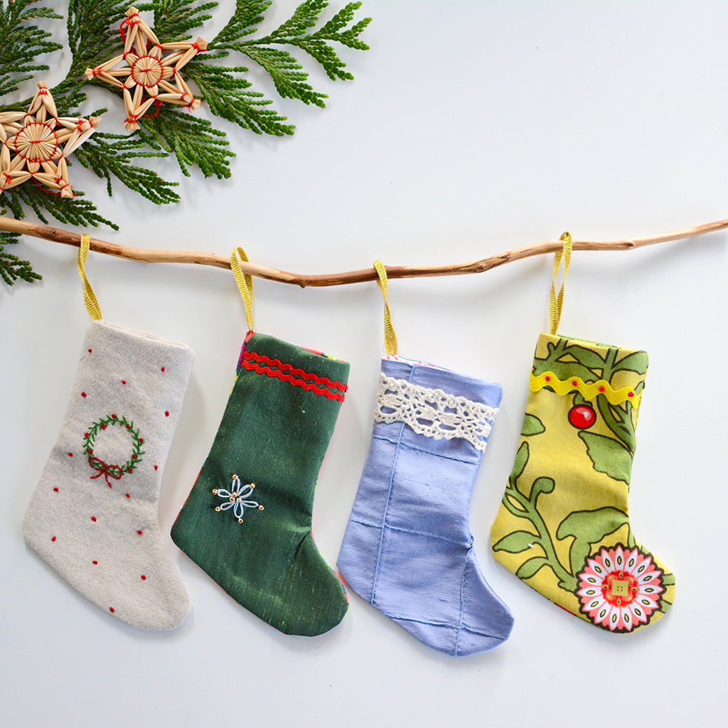 Mini Christmas Stockings - Advent Calendar
