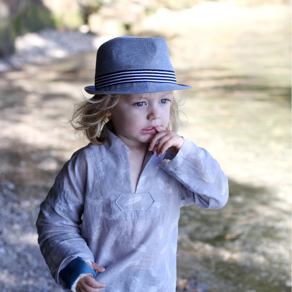 Boys - Tops Breeze Shirt PDF Digital Sewing Pattern by Twig and Tale 1