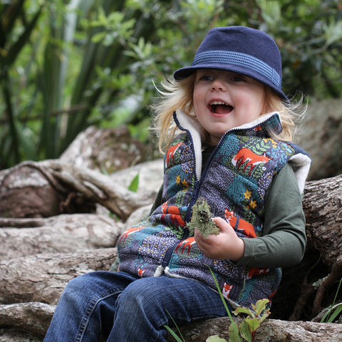 Boys - Tops trailblazer vest pdf digital sewing pattern by twig and tale