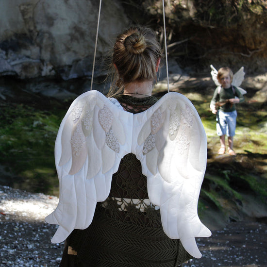 Adults angel wings sewing pattern