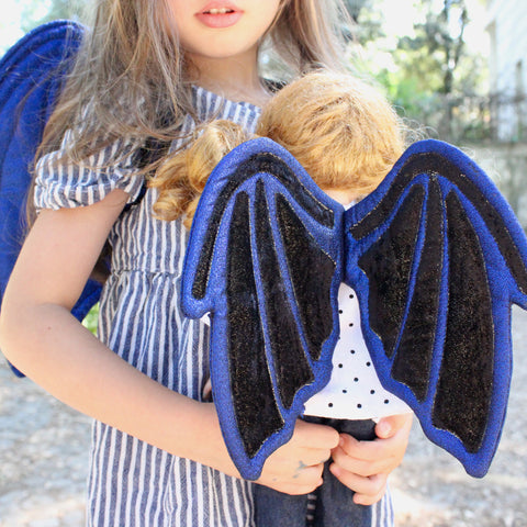 Dolls + Accessories - Mini Dragon wings pdf sewing pattern