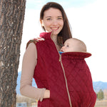 Nestledown Babywearing Vest for Women PDF sewing pattern by Twig + Tale 5