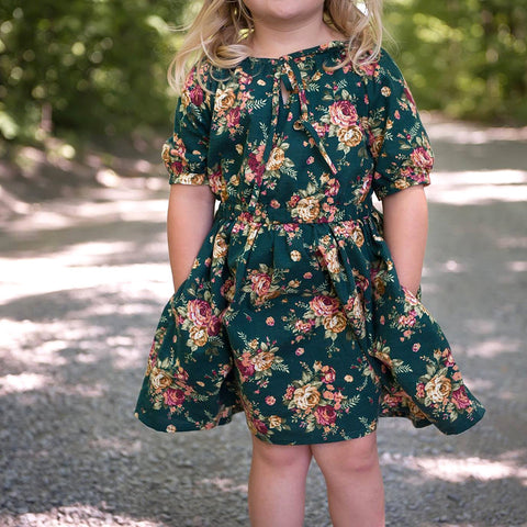 Children - Dresses + Rompers Dresses Driftwood Blouse + Dress PDF digital sewing pattern by Twig + Tale