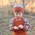 Alpine Knot Hat sewing pattern by Twig + Tale