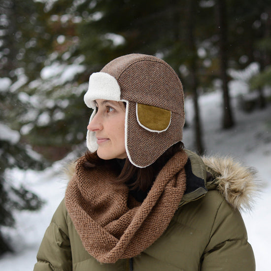 Adults Aviator Hat - Twig and Tale - PDF digital sewing pattern 13