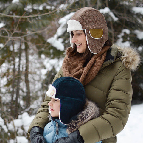 Aviator Hat - Twig and Tale - PDF digital sewing pattern