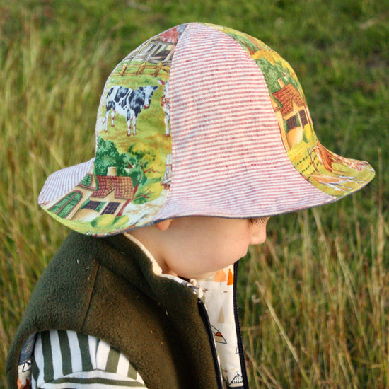 Sunny Hat PDF sewing pattern from Twig + Tale