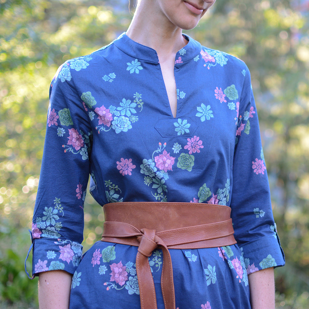 Breeze Shirt + Tunic - PDF Digital Sewing Pattern by Twig + Tale 11
