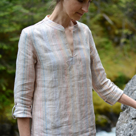 Breeze Shirt + Tunic - PDF Digital Sewing Pattern by Twig + Tale 5