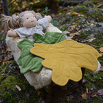 BUNDLE of Leaf Blanket + Doll Leaf Blanket ~ Euro Collection