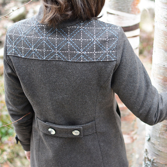 Women's Forester Coat - PDF digital sewing pattern by Twig + Tale 4
