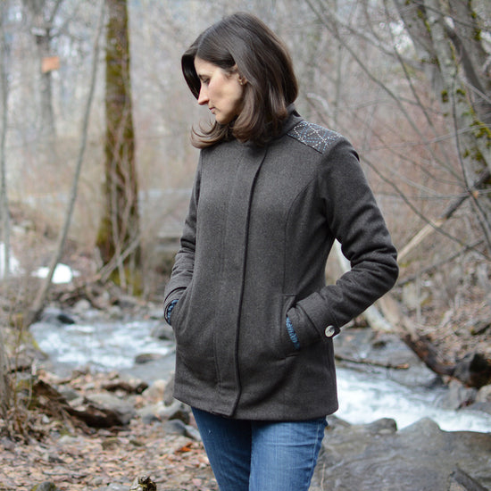 Women's Forester Coat - PDF digital sewing pattern by Twig + Tale 2