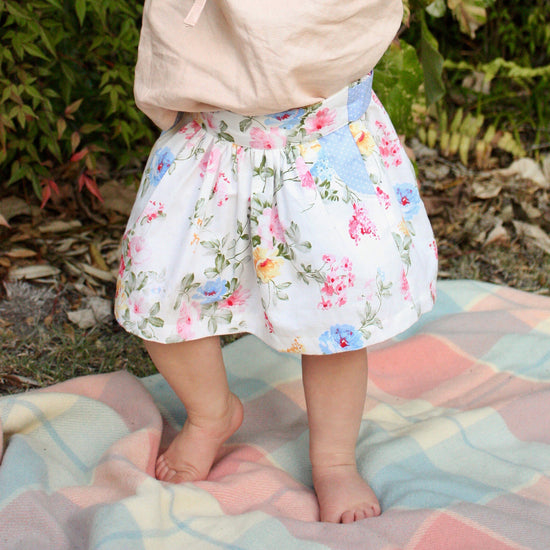 Baby Meadow Skirt PDF sewing pattern by Twig + Tale 6