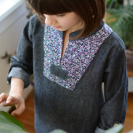 Breeze Shirt PDF Digital Sewing Pattern by Twig and Tale 4
