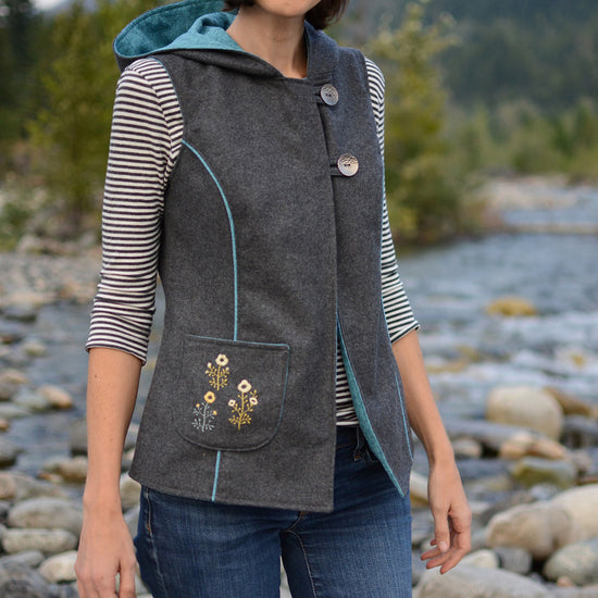 Pathfinder Vest Bundle for Women, Men and Children PDF Sewing Patterns from Twig + Tale