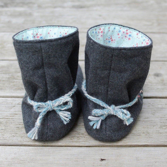 Tie Back Boots - Adult sizes - PDF digital sewing pattern by Twig + Tale  15