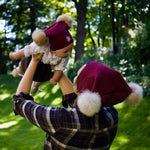 Adults - Hats Pompom Hat sewing pattern by Twig + Tale