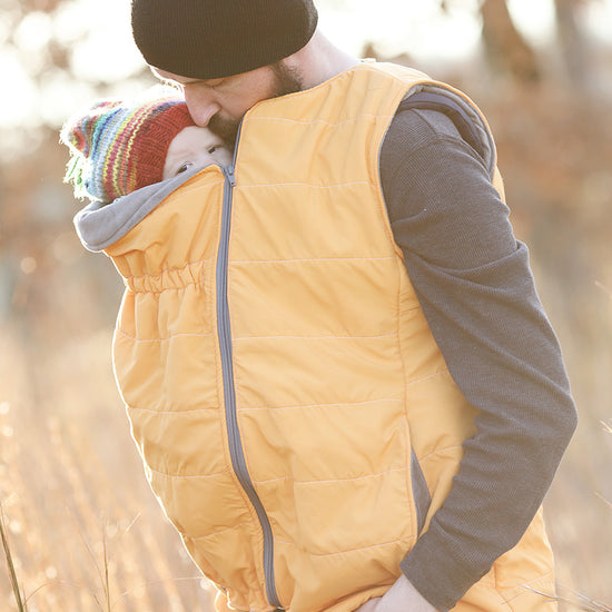 Nestledown Babywearing Vest for Men PDF sewing pattern by Twig + Tale 2