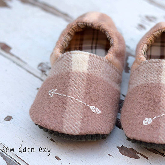 Wayfarer Shoes PDF digital sewing pattern by Twig + Tale - 3