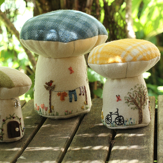 Toadstool Playhouse digital PDF sewing pattern by Twig and Tale 7
