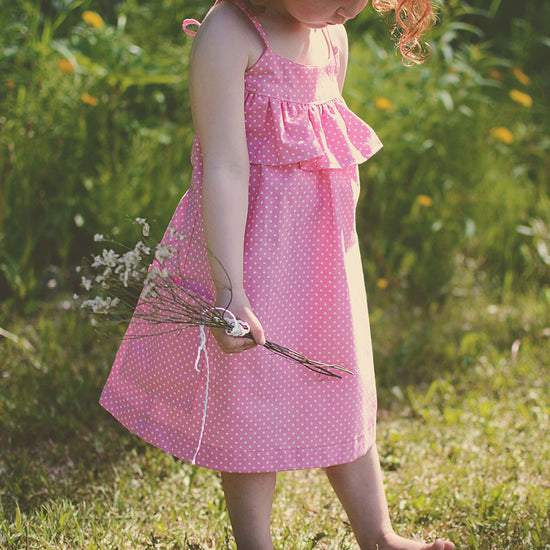 Barefoot Dress PDF digital sewing pattern by Twig + Tale 5