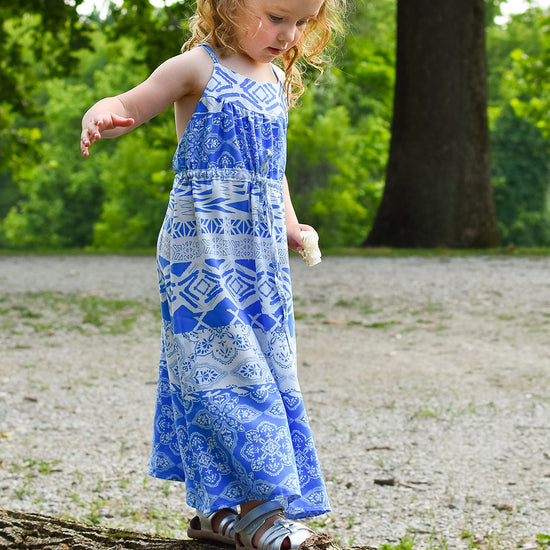 Barefoot Dress PDF digital sewing pattern by Twig + Tale 6