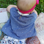 Baby driftwood blouse and dress - Twig and Tale - PDF digital sewing pattern 6