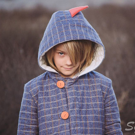 Boys Animal Coat - Twig + Tale  - Digital PDF sewing pattern - 2