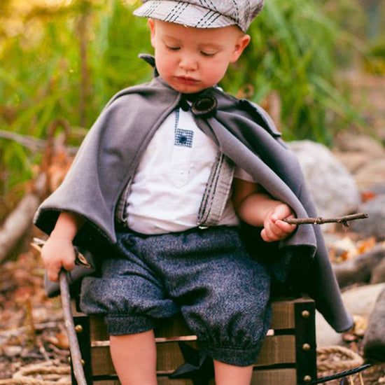 Boys - Outerwear Traveller Cape PDF digital sewing pattern by Twig + Tale