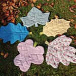 Doll sized  Leaf Blanket digital PDF sewing pattern by Twig + Tale