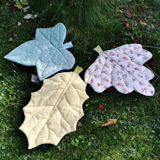 Doll Leaf Blanket digital PDF sewing pattern by Twig + Tale
