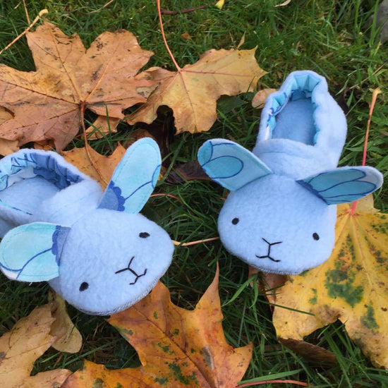 Animal Themed Slippers - Twig + Tale  - Digital PDF sewing pattern 6