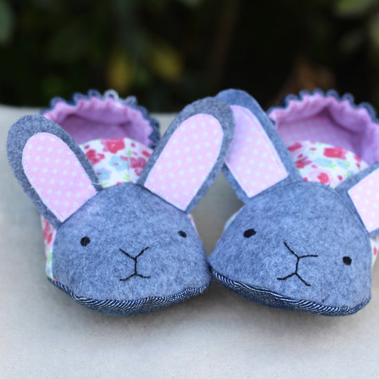 Animal Themed Slippers - Twig + Tale  - Digital PDF sewing pattern 3
