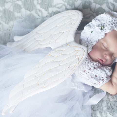 Baby - Animal angel wings newborn photography prop pdf sewing pattern by twig + tale