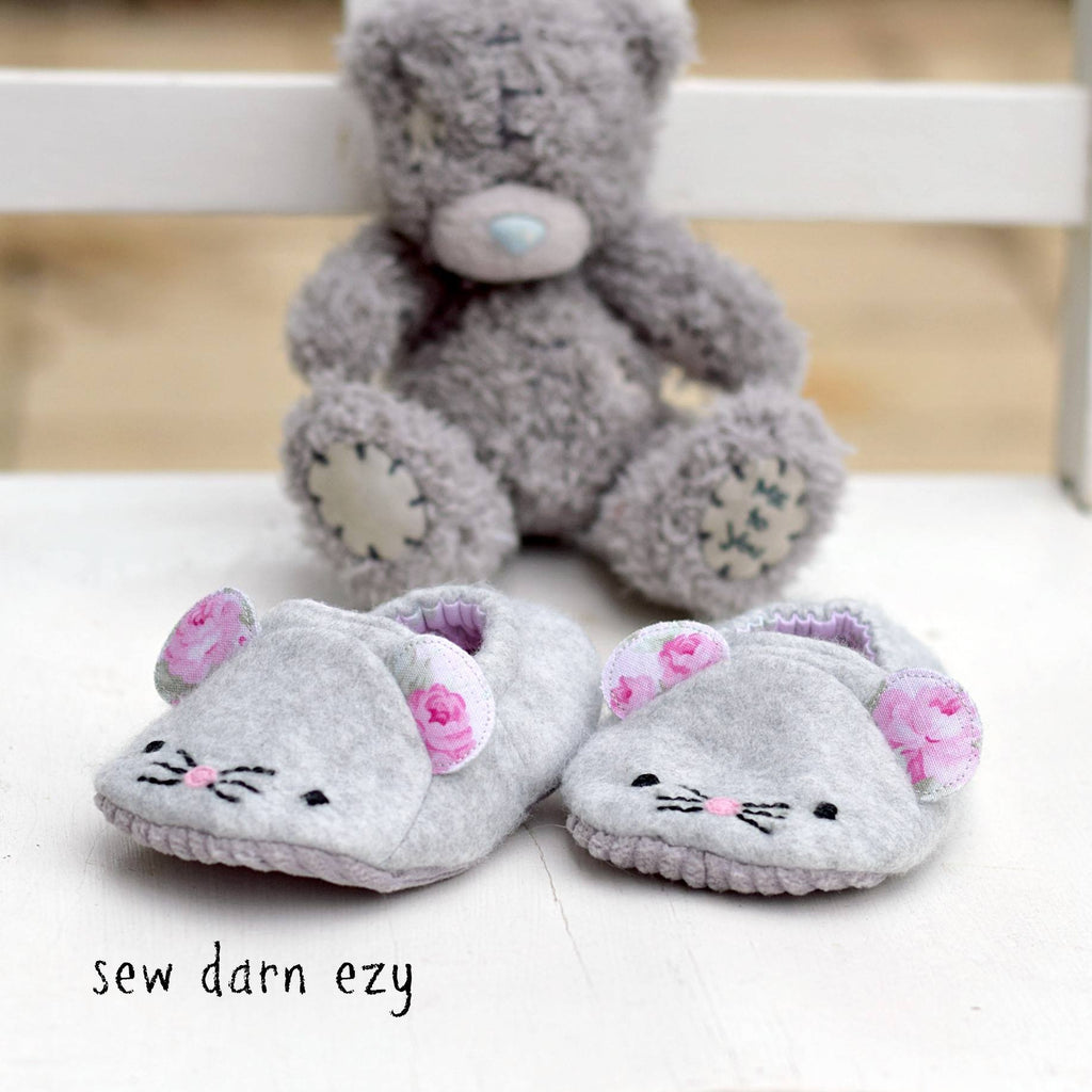 Wild Things Baby Shoes - Twig + Tale  - Digital PDF Download - 4