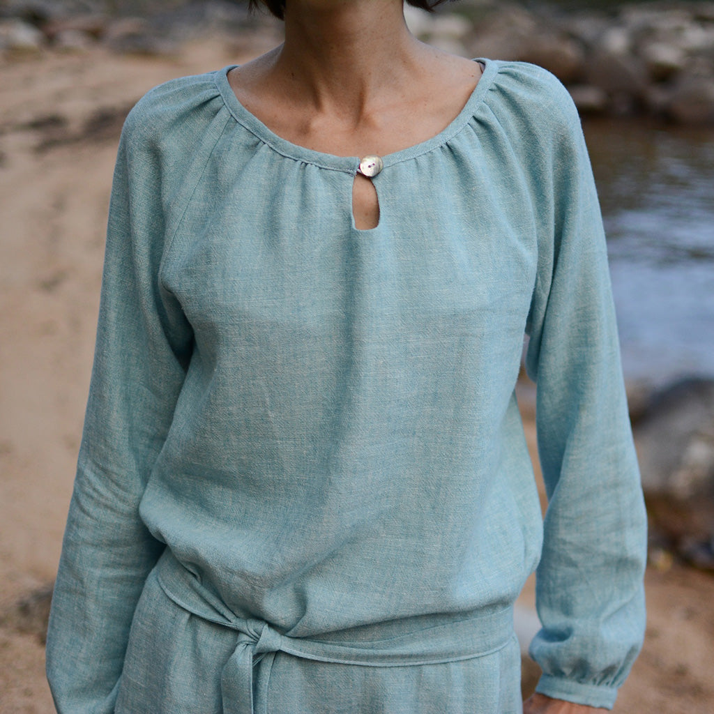 Women's Driftwood Blouse + Dress sewing pattern by Twig and Tale 2