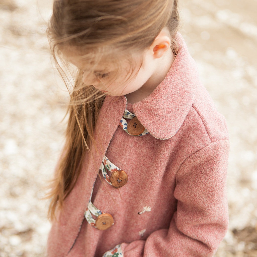 Pixie Pea Coat - Twig + Tale  - Digital PDF Download - 2