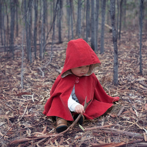 Baby - Outerwear Little Red Riding Hood - PDF digital sewing pattern by Twig and Tale 11
