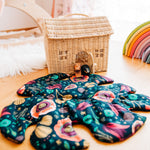 Tropical Leaf Blanket Bundle Twig + Tale PDF sewing pattern