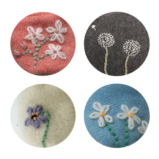 Wildflower Embroidery Collection - Twig + Tale  - Digital PDF Download - 1