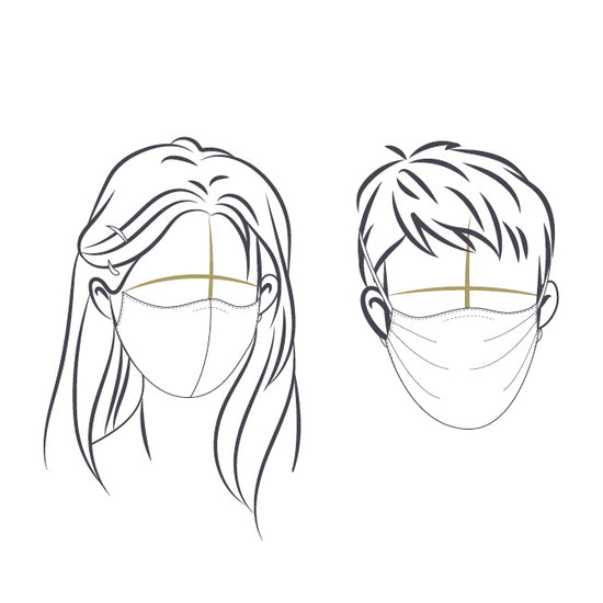 Free fabric face mask pattern by Twig + Tale