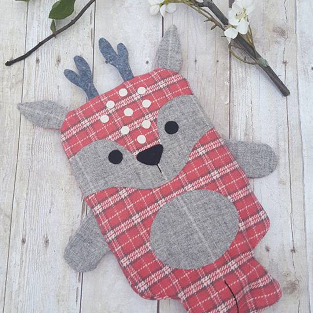 Animal Hot Water Bottle Covers - Twig + Tale