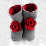 Flower Boots Sewing Pattern - Twig + Tale  - Digital download  - 5