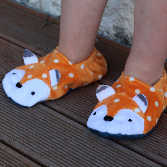 Animal Themed Slippers - Twig + Tale  - Digital PDF sewing pattern 10