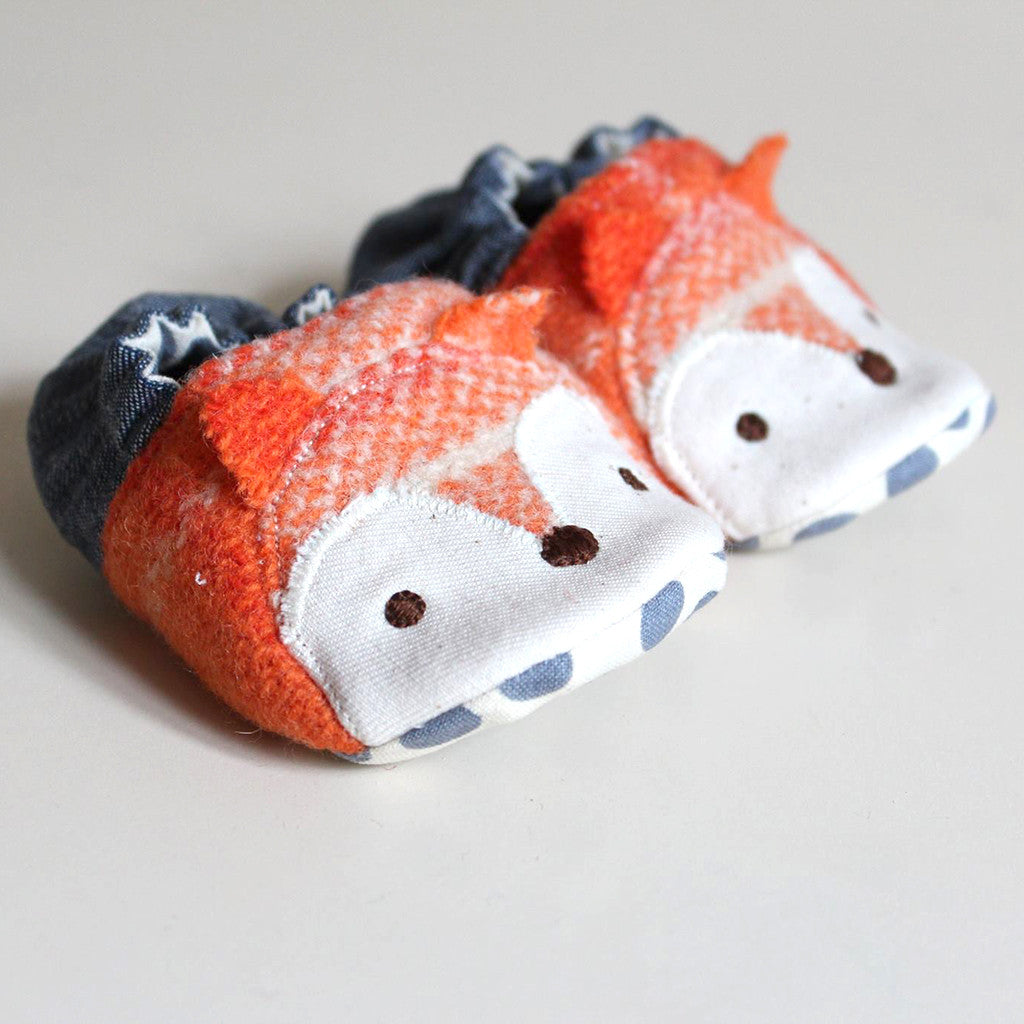 Wild Things Baby Shoes - Twig + Tale  - Digital PDF Download - 3