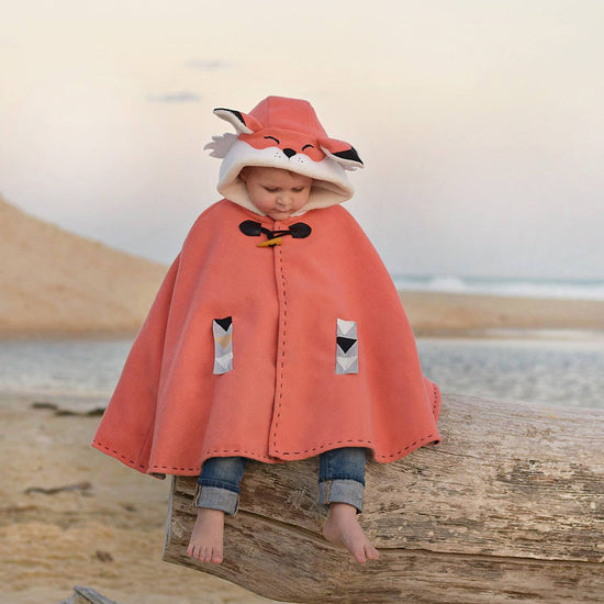 Boys Animal Themed Cape - Twig + Tale  - Digital PDF sewing pattern - 15