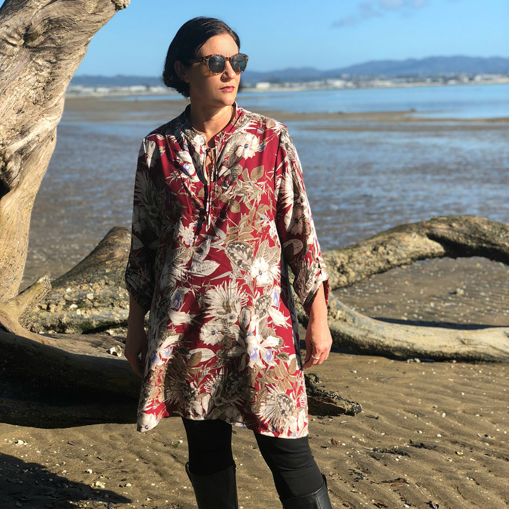 Breeze Shirt + Tunic - PDF Digital Sewing Pattern by Twig + Tale 14