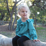 Baby driftwood blouse and dress - Twig and Tale - PDF digital sewing pattern 8