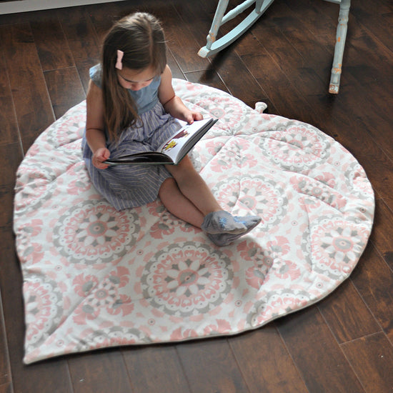 Leaf Blanket PDF digital sewing pattern by Twig + Tale 6